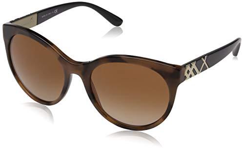 BURBERRY Damen 0BE4236 362313 56 Sonnenbrille, Braun (Spotted Brown/Browngradient)