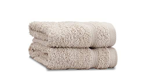 Catherine Lansfield Zero Twist–Toalla para la Cara, algodón, natural