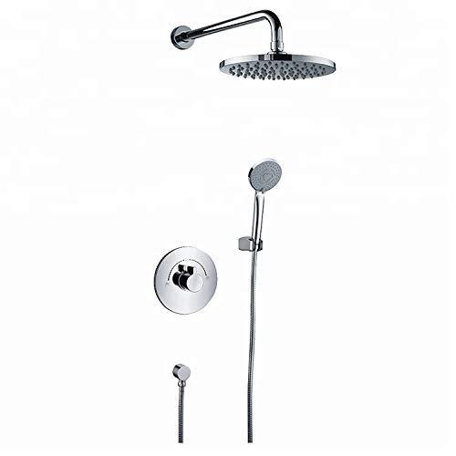 CENPEN Cabezal de ducha de mano duradero en la pared grifos y ducha para baño duradero (Tipo de grifo de baño y ducha: grifos de ducha en la pared).
