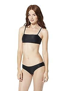 Speedo Women's Swimsuit Top Bikini Square Neck Emilia Solid