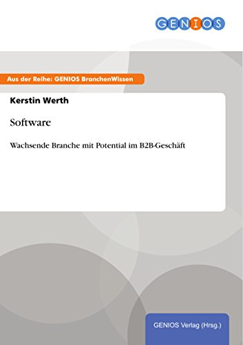 Software: Wachsende Branche mit Potential im B2B-Geschäft