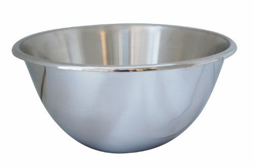 De Buyer 3370.20 Bassine Sphéro-Conique en Inox - Diamètre 20 cm
