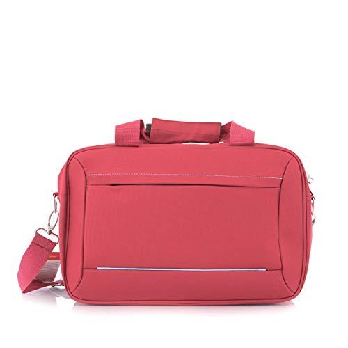 BONTOUR 40x20x25cm Handgepäck Reisegepäck für Ryanair Kabinentasche(Rot)