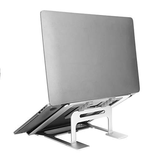 Soporte para computadora portátil, Soporte para computadora portátil, aleación de Aluminio, Escritorio, disipación de Calor Universal, Soporte para computadora portátil, Soporte de refrigeración para