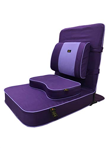 Friends of Meditation Extra Large Relaxing Meditation and Yoga Chair with Back Support and...