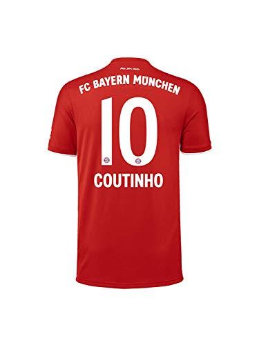 FC Bayern München Home-Trikot Saison 2020/21, Gr. M, Philippe Coutinho