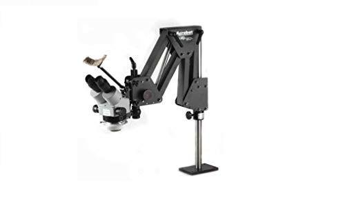 EuroTech Setters Microscope with GRS 003-630 Acrobat Stand and Optia 024-290 LED Light