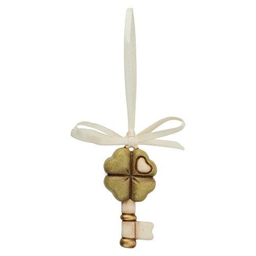 THUN Chiave Quadrifoglio (bomboniera), Ceramica, h 6 cm