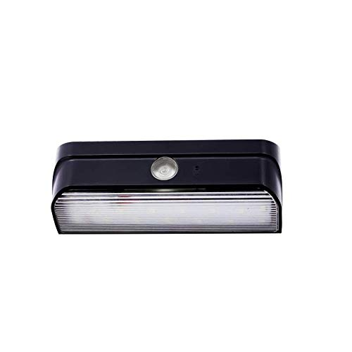 Solar Lights Outdoor, Top-Max LED Super Bright Motion Sensor Wall Lights Detachable Headlight Panel Waterproof Security Wireless Garden Security Lights for Outdoor Front Door Backyard Steps Garage
