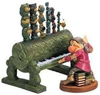 Walt Disney (WDCC) Figurine - Snow White - Grumpy Playing The Pipe Organ, 41065