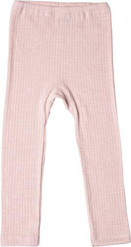 Cosilana, Kinder Leggings/Lange Unterhose, 45% KBA Baumwolle, 35% kbT Wolle, 20% Seide (116, Pink Meliert)