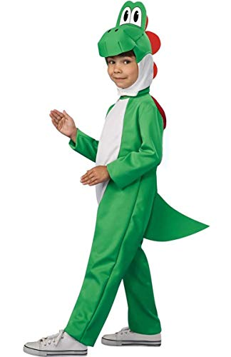 YWPARTY, travestimento per bambini, costume di Carnevale, motivo Super Mario Bros, dinosauro Yoshi, drago