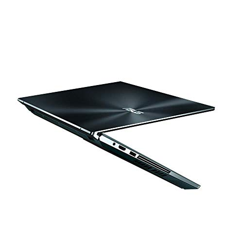 ASUS ZenBook Pro Duo mit ScreenPad Plus, UX581LV-H2045T Notebook (39,6cm, 15,6 Zoll, 4K UHD, OLED, Touch, Glare, Intel Core i7-10750H, NVIDIA GeForce RTX2060-6GB, 16GB, 512GB SSD, W10) Celestial blue