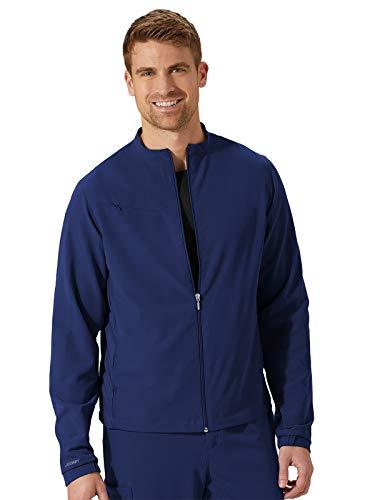 Jockey Scrubs Classic Unisex Zip Front Collared Jacket