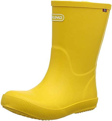 Viking Unisex-Kinder CLASSIC INDIE Gummistiefel, Gelb (Yellow 13), 25 EU