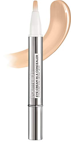 L'Oréal Paris Augenpflege - Concealer, Abdeckstift gegen Augenringe, Mit Hyaluronsäure und Vitamin C, Perfect Match, 3-5N - Natural Beige, 2 ml