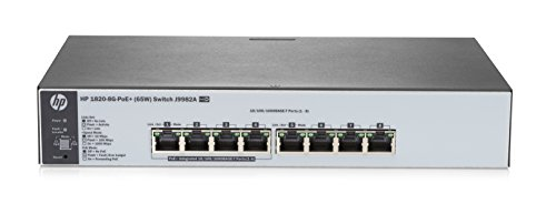 HP J9982A#ABB 1820-8G-PoE+ (65W) Switch-Hub