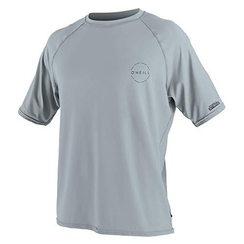 O'Neill Men's 24-7 Traveler UPF 30+ Short Sleeve Sun Shirt, Cool Grey, XL