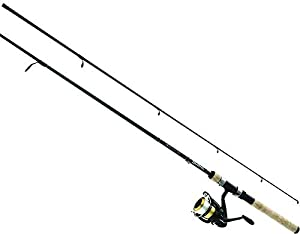 Daiwa DSK30-B/F702M-12C D-Shock Freshwater Spinning Combo, 3000, 7' Length, 2Piece Rod, 6-14 lb Line Rating, Medium Power