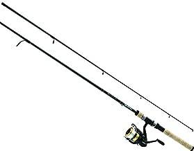 Daiwa DSK30-B/F702M-12C D-Shock Freshwater Spinning Combo, 3000, 7' Length, 2Piece Rod, 6-14 lb Line Rating, Medium Power