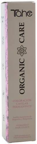 Tahe Organic Care Coloración Capilar Permanente de Larga Duración para el Cabello 100 ml, Tono 1