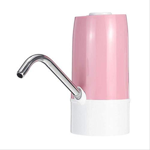 Charge USB distributeur d'eau électrique gallon interrupteur de bouteille d'eau portable pompe à eau sans fil intelligente appareils de traitement de l'eau rose
