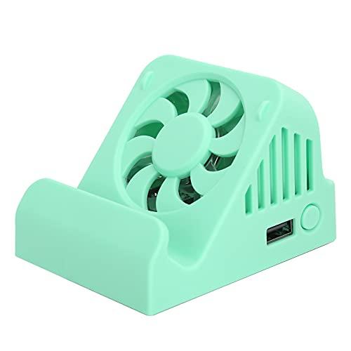 Goshyda Base de Consola de Juegos, Consola de Juegos portátil Fan Consola de Juegos Base Soporte Soporte Convertidor de Video para Switch Lite