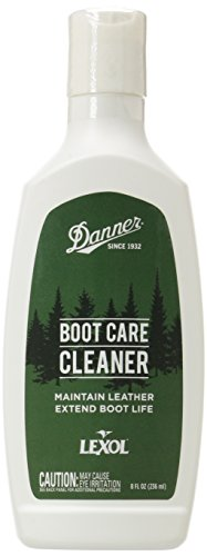 Danner unisex adult Leather Cleaner, Clear, One Size US