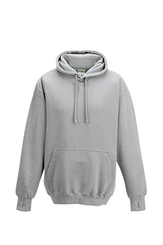 Just Hoods - Sweat-shirt à capuche - Homme - Gris - Chiné - XXL