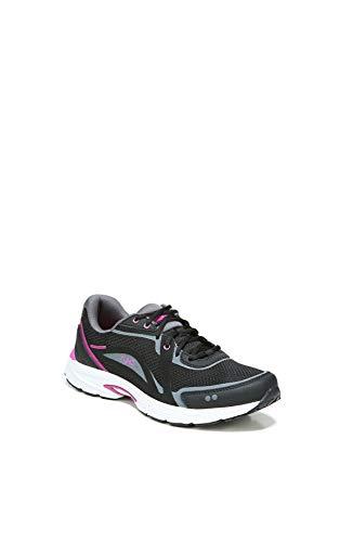 RYKA Women's Sky Walk Fit Shoes Oxford, Black Berry, 6.5 M US