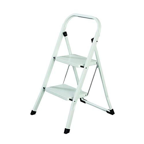 MAURER 23010106 Escalerilla Acero 2 Peldaños Uso Doméstico