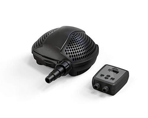 Pontec PondoMax Eco 11500 C, Filterpumpe, Bachlaufpumpe, Teichpumpe, 11.500 l/h, schwarz, 11,5 l/h
