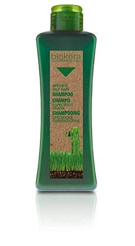 Salerm Cosmetics Biokera Natura Champú Específico Grasa - 1000 ml