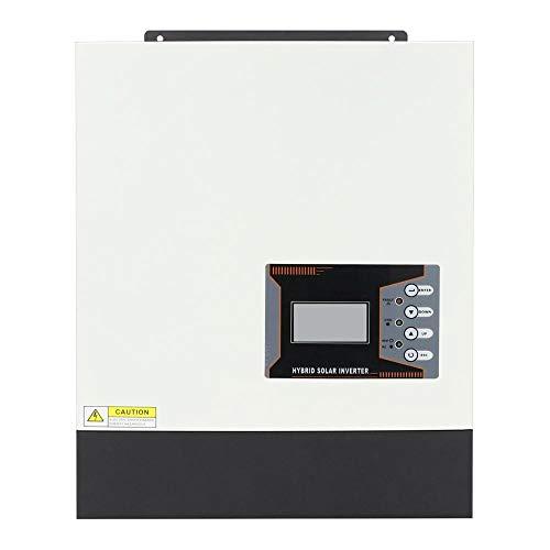 GNY 5.2KW Inversor Solar híbrido Onda sinusoidal Pura 80A MPPT Controlador de Carga Solar 48V...