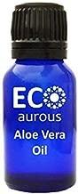 Aloe Vera Oil 100% Natural Organic Aloe Vera Essential Oil | Organic Aloe Vera Oil | Pure Aloe Vera Oil By Eco Aurous (15 ml 0.5 oz)