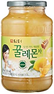 DAMTUH Honey Lemon Tea, Homemade Style Throat Comfort Honey Lemon, 35.27 Oz (1kg) 1 Bottle