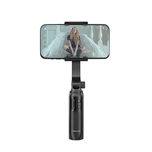 FeiyuTech Vimble One Smartphone Gimbal,Gimbals Stabilizer for iPhone Android with Anti Shaking Handheld Foldable Selfie Stick Tripod Phone Holder for Live Streaming Vlog Youtuber Video TikTok