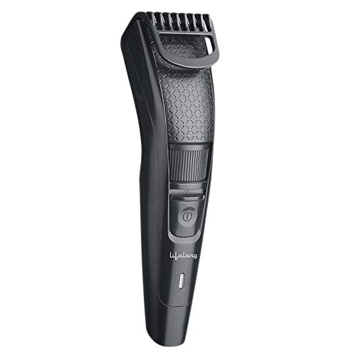Lifelong LLPCM13 Cordless Beard Trimmer for men, Runtime: 45 minutes (Black)