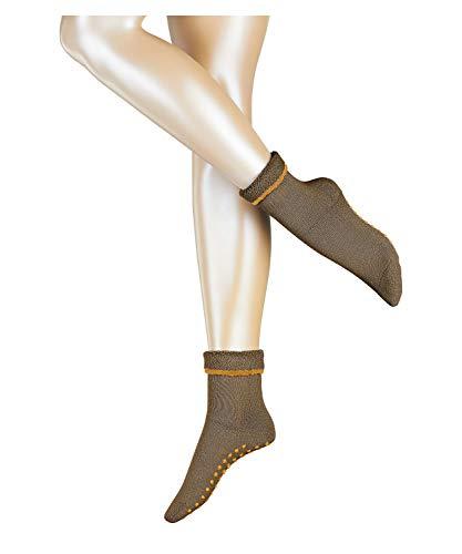 ESPRIT Damen Hausschuh-Socken Cozy, Schurwolle, 1 Paar, Braun (Dune 5740), 39-42 (UK 5.5-8 Ι US 8-10.5)