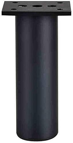 Hqqqgwt Metall-Möbelfüße Tischbeine Schrankfuß Möbel Wade verstellbar TV-Schrank Beine Werkzeuge, 4 Stück., 20 cm
