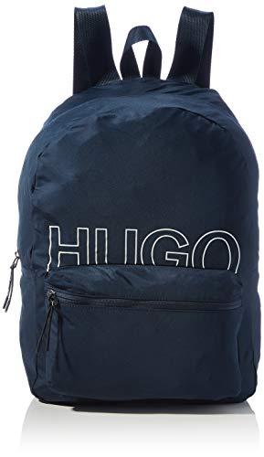 HUGO Herren Reborne_Backpack Rucksack, Navy411, Normal