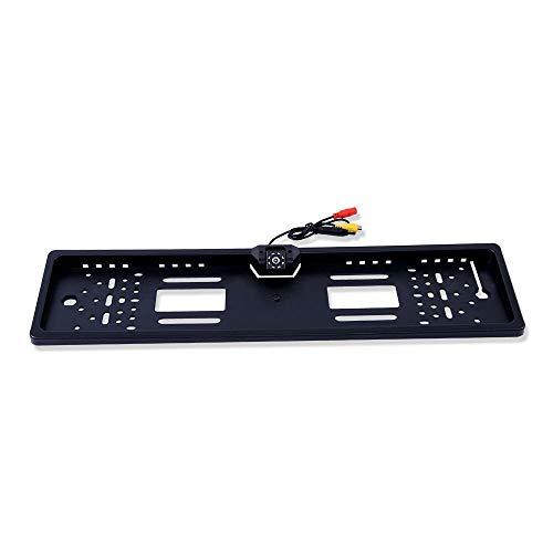 YLG 4.3TFT Monitor del Coche + cámara de visión Trasera Impermeable Europea UE capítulo de matrícula de la cámara del Respaldo Parktronic Noche inversa Visión