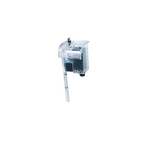 Takestop® - Filtro externo Jeneca XP-06,de cascada, con motor, de alto rendimiento, con bomba externa, para acuario de peces de agua dulce o salada, marino, 3W, 150 Lh