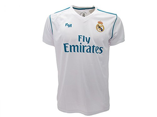 Real Madrid - Camiseta - para Hombre Blanco Blanco M