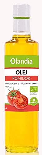 Cold-Pressed Sunflower Oil with Tomato BIO 250 ml - OLANDIA