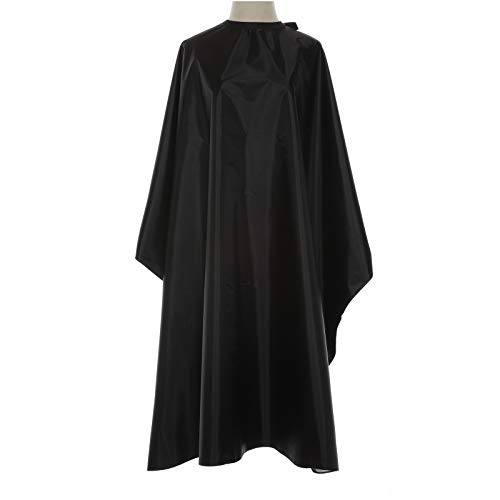 Yamde Nylon Waterproof Professional Barber Cape with Snap Closure Salon Cape ,hair cutting cape ,haircut Cutting Hair Beard Hairdressing Cape ,Anti-Static Stain Resistant Apron- 63 x 55 inch