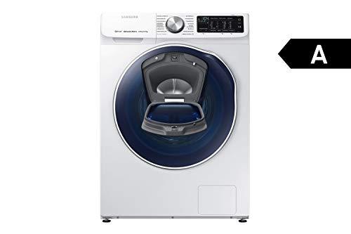 Samsung WD6800 WD81N642OOW/EG QuickDrive Waschtrockner/a/22400 kWh/Jahr/1400UpM/8 kg/9600 L/jahr/4 kg Waschen und Trocknen in NUR 3 Stunden/AddWash/Amazon Dash Replenishment fähig