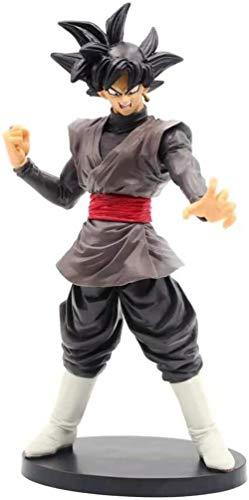 Figuras de Anime Kshong Dragon Ball Super Goku Black Zamasu PVC Toys Legend Modelo Goku Black Hair Collection Brinquedos Action Figma Doll 23 Cm