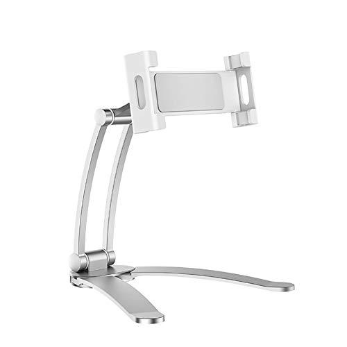 Acutty Mobile Phone Stand for Desk, Gooseneck Flexible Lazy Arm Bracket Desktop Phone Tablet Holder Lazy Bracket On the Wall Stand Adjustable for Home Bedroom, Office, Bathroom, Kitchen