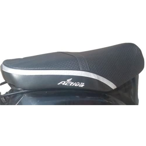 SaharaSeats Activa Cotton Fabric Seat Cover for Old 3G/4G/5G (Black)